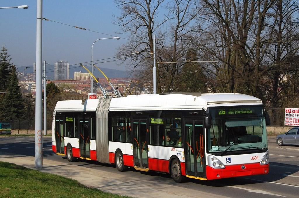 Fotogalerie » Škoda 25Tr Citelis 1B 3609 | Brno | Černá Pole | Drobného