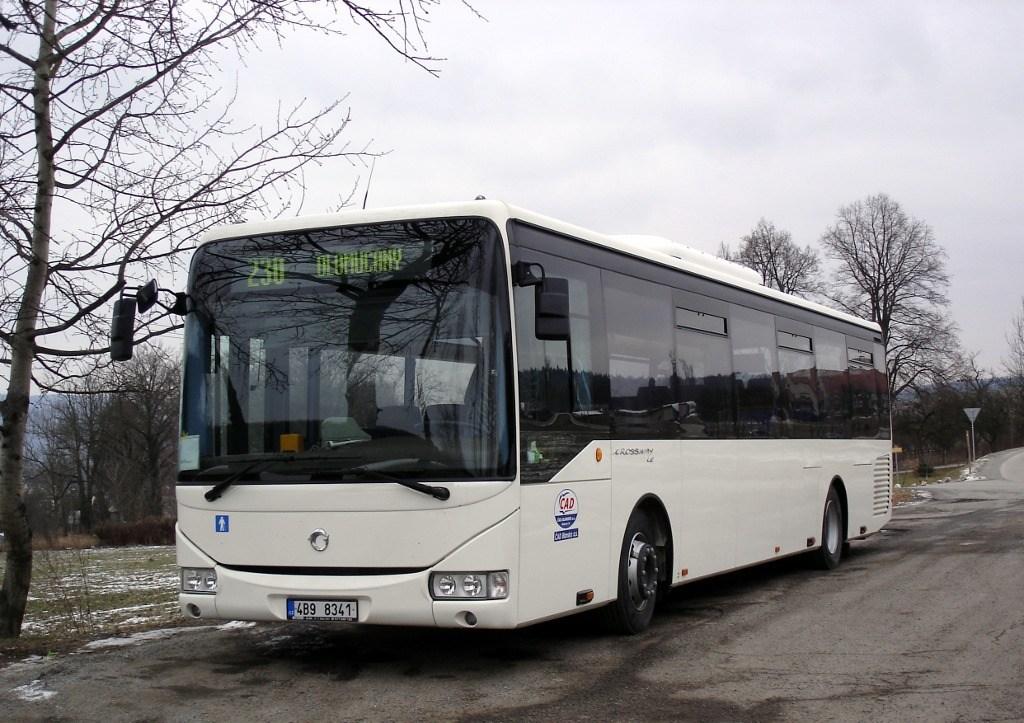 Fotogalerie » Irisbus Crossway LE 12M 4B9 8341 | Olomučany