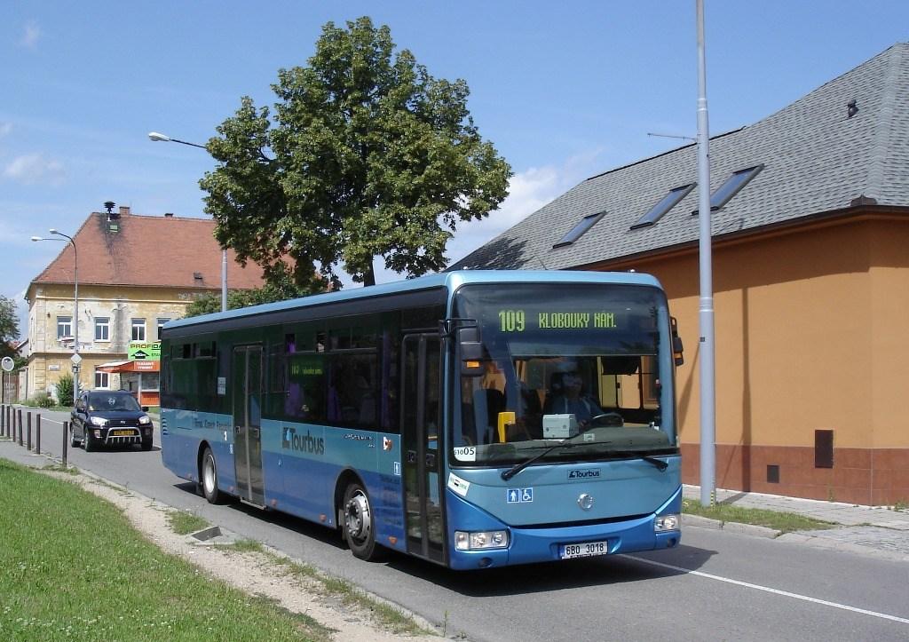 Fotogalerie » Irisbus Crossway LE 12M 6B0 3018 | Brno | Brněnské Ivanovice | Ivanovické náměstí