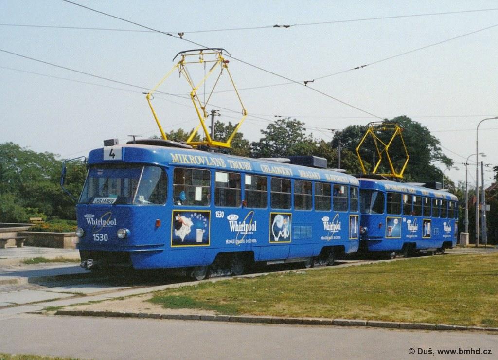 Fotogalerie » T3M 1530 | T3M 1561 | Brno | Masarykova čtvrť | Náměstí míru | Náměstí Míru, smyčka