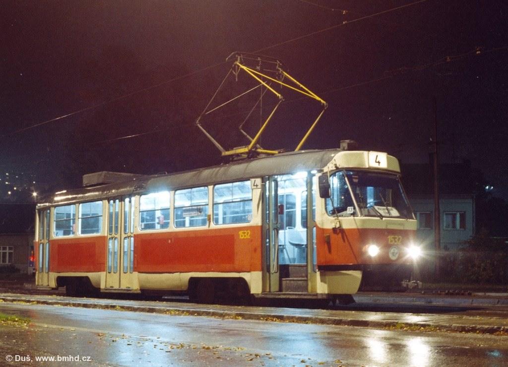 Fotogalerie » T3M 1532 | Brno | Maloměřice | Dolnopolní | Maloměřický most