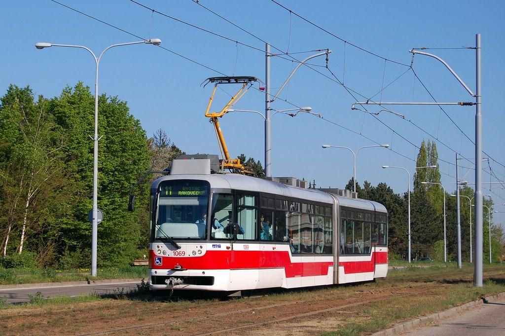Fotogalerie » Pragoimex VarioLF2R.E 1069 | Brno | Černá Pole | třída Generála Píky