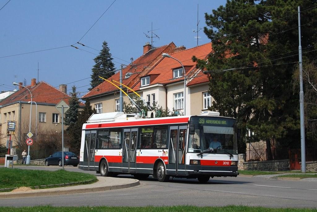 Fotogalerie » Škoda 21Tr 3018   Brno   Masarykova čtvrť   Barvičova