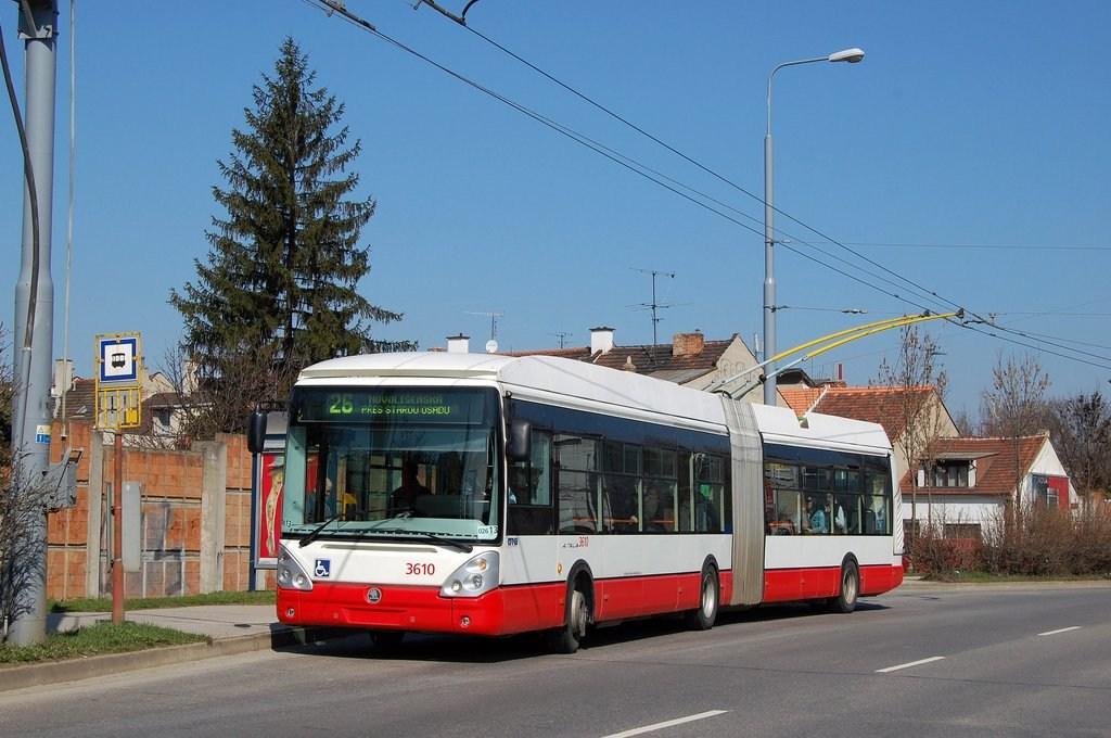 Fotogalerie » Škoda 25Tr Citelis 1B 3610 | Brno | Židenice | Svatoplukova | Svatoplukova
