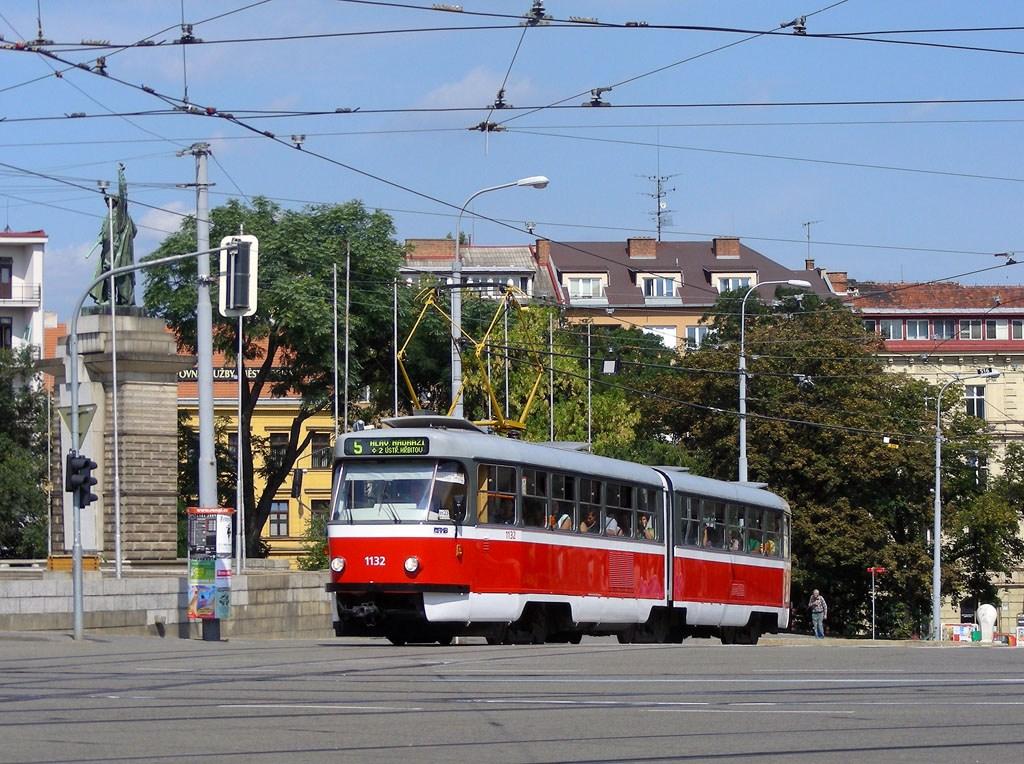 Fotogalerie » ČKD Tatra K2 1132 | Brno | střed | Moravské náměstí | Moravské náměstí