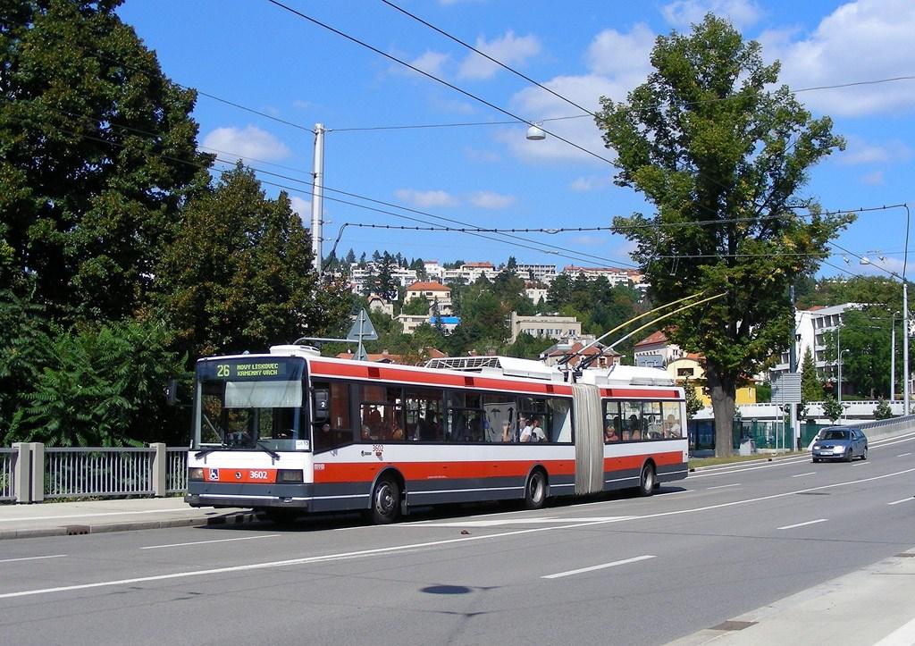 Fotogalerie » Škoda 22Tr 3602 | Brno | Pisárky | Pisárecká