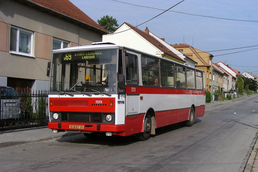 Fotogalerie » Karosa B732.40 7273 | Brno | Bosonohy | Hoštická