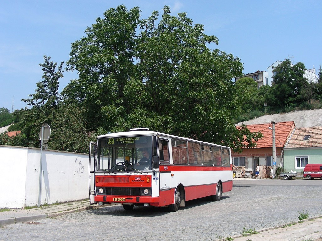 Fotogalerie » Karosa B732.40 7273   Brno   Bosonohy   U smyčky   Bosonohy
