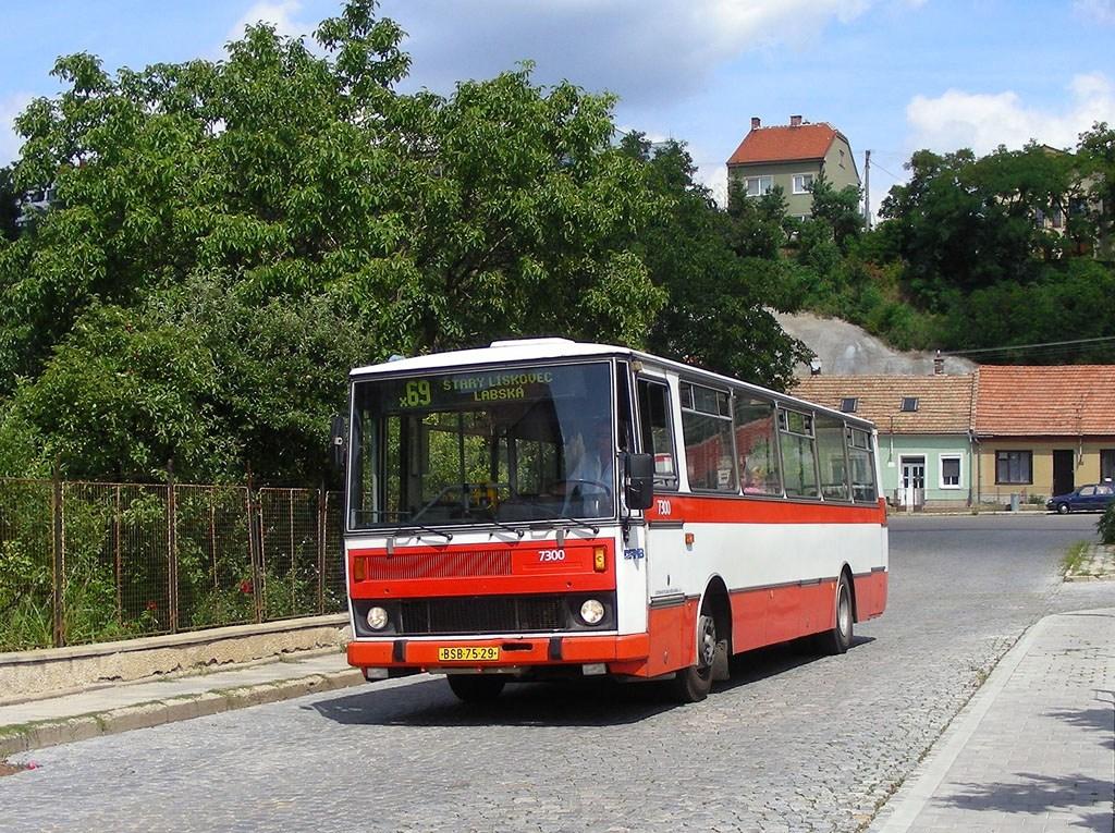 Fotogalerie » Karosa B732.1652 7300   Brno   Bosonohy   U smyčky