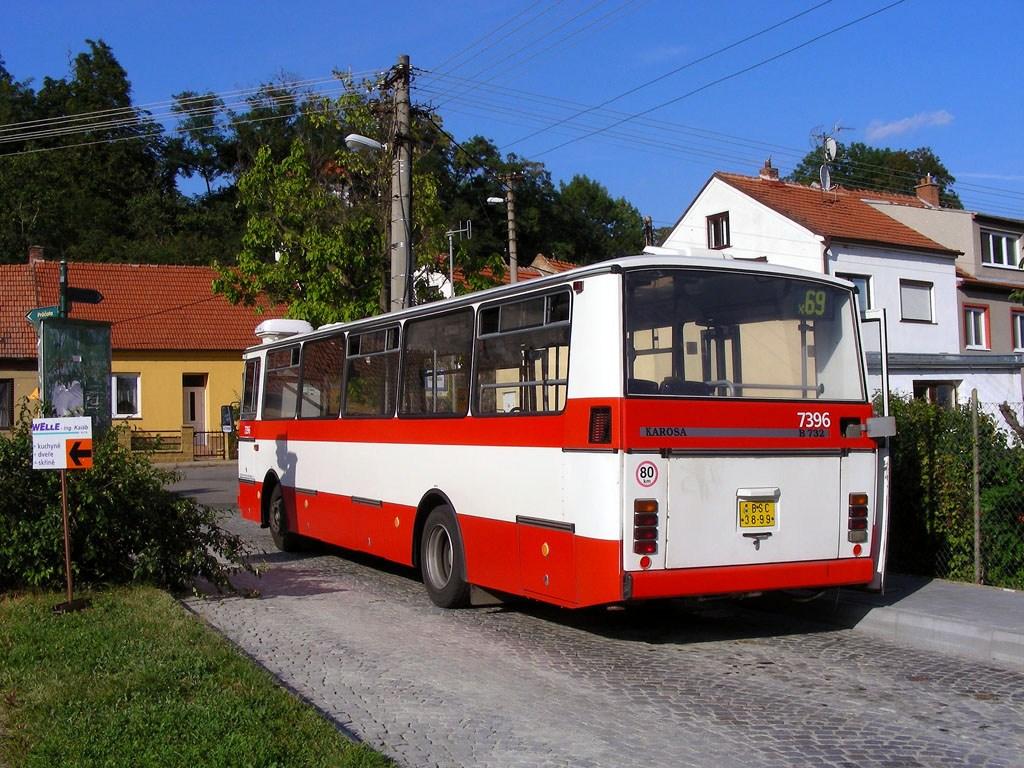 Fotogalerie » Karosa B732.1654.3 7396   Brno   Bosonohy   U smyčky   Bosonohy