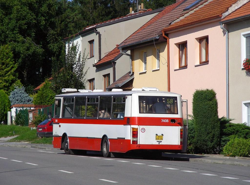 Fotogalerie » Karosa B731.1669 7408 | Brno | Líšeň | Šimáčkova | Obecká