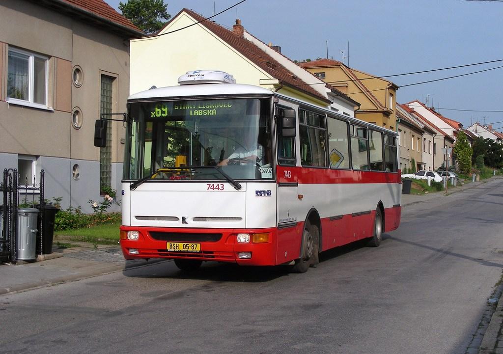 Fotogalerie » Karosa B931.1675 7443 | Brno | Bosonohy | Hoštická