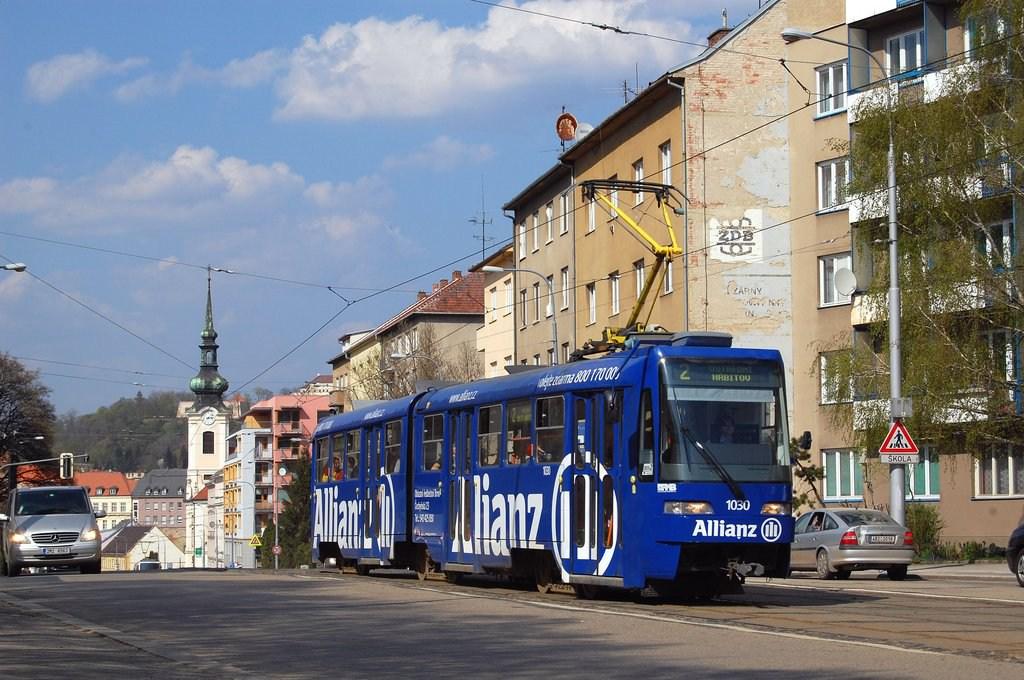 Fotogalerie » ČKD Tatra K2R03-P 1030 | Brno | Štýřice | Vídeňská
