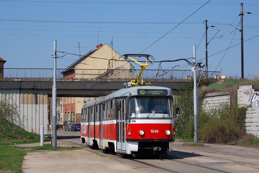 Fotogalerie » ČKD Tatra K2P 1048 | Brno | Židenice | Nezamyslova