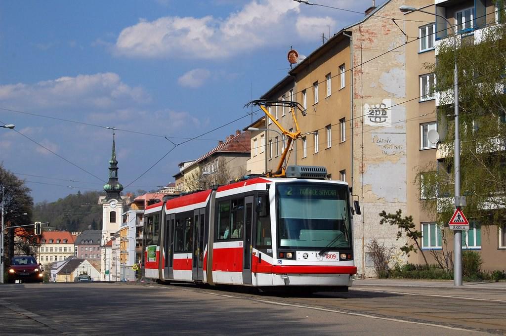 Fotogalerie » Škoda 03T6 1809 | Brno | Štýřice | Vídeňská