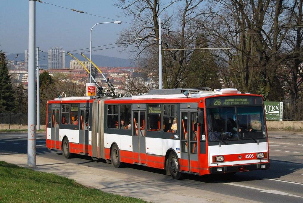 Fotogalerie » Škoda 15TrM 3506   Brno   Černá Pole   Drobného