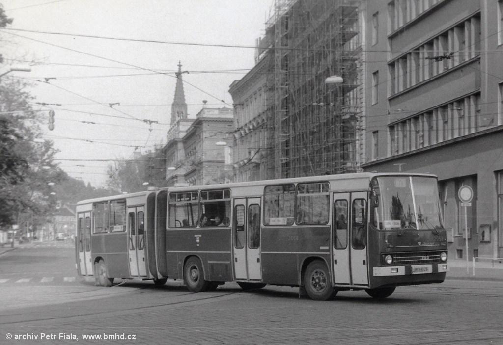 Fotogalerie » Ikarus 280.12 2058   Brno   střed   Joštova