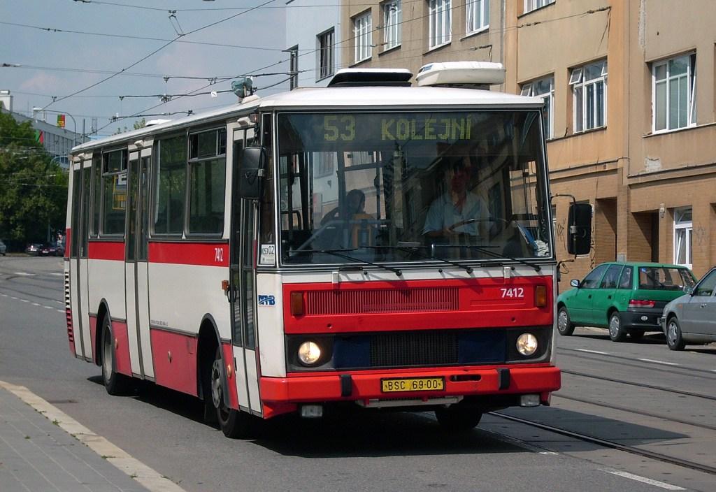 Fotogalerie » Karosa B731.1669 7412 | Brno | Královo Pole | Purkyňova | Červinkova