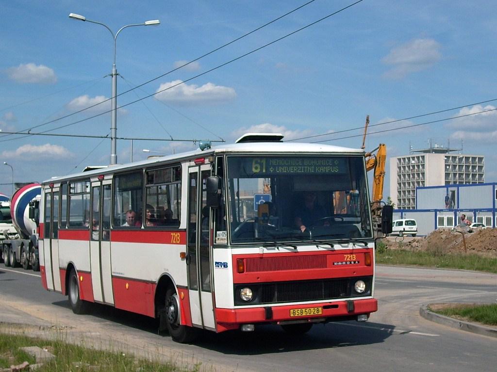 Fotogalerie » Karosa B732.20  7213 | Brno | Bohunice | Netroufalky
