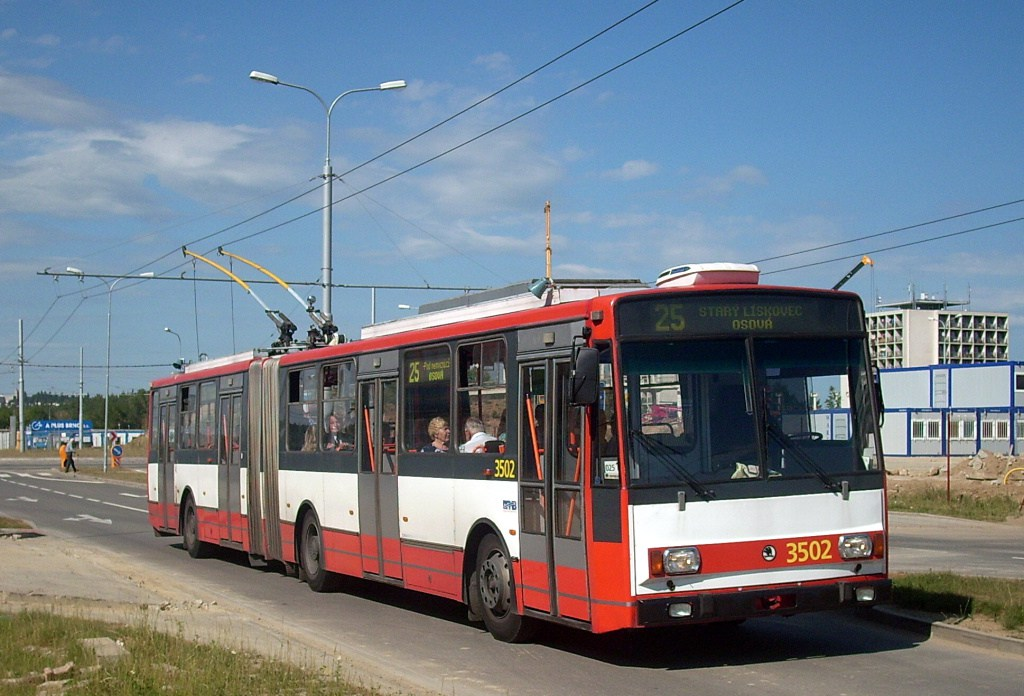 Fotogalerie » Škoda 15TrM 3502 | Brno | Bohunice | Netroufalky