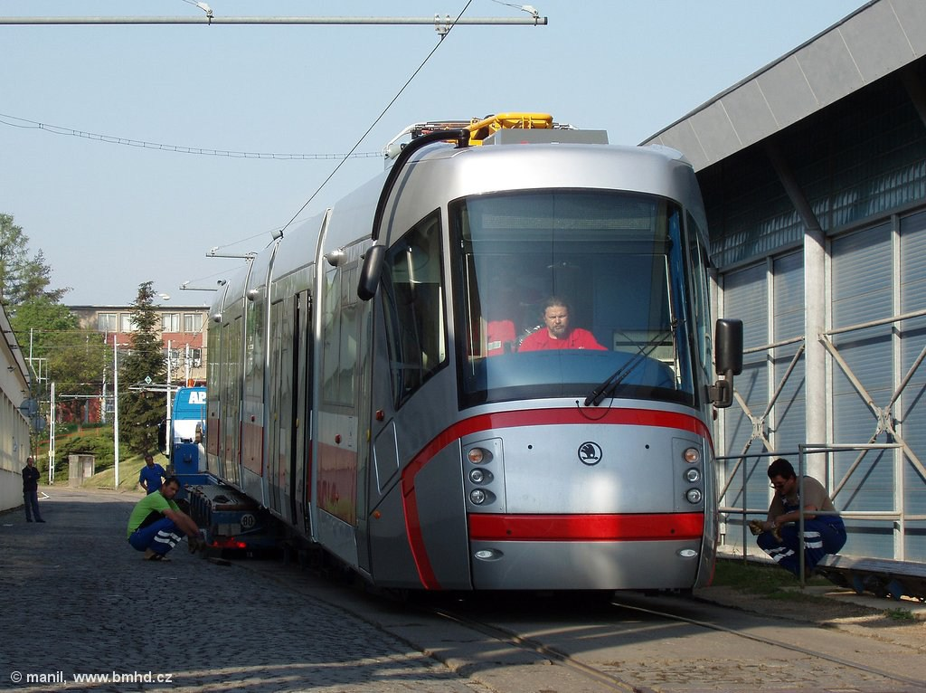 Fotogalerie » Škoda 13T3 1911   Brno   vozovna Medlánky