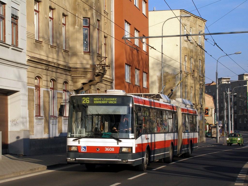 Fotogalerie » Škoda 22Tr 3608 | Brno | Pisárky | Hlinky