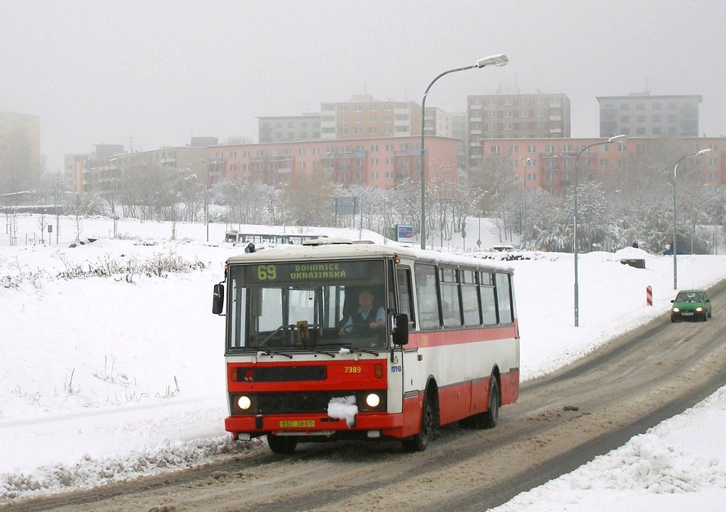 Fotogalerie » Karosa B732.1654.3 7389 | Brno | Bohunice