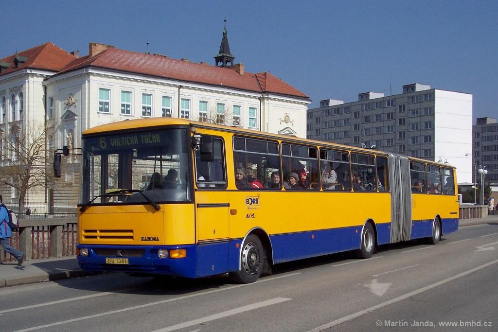 Fotogalerie » Karosa B941 BVA 83-81 | Břeclav | 17. listopadu