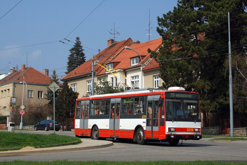 Fotogalerie » Škoda 14TrR 3219   Brno   Masarykova čtvrť   Barvičova
