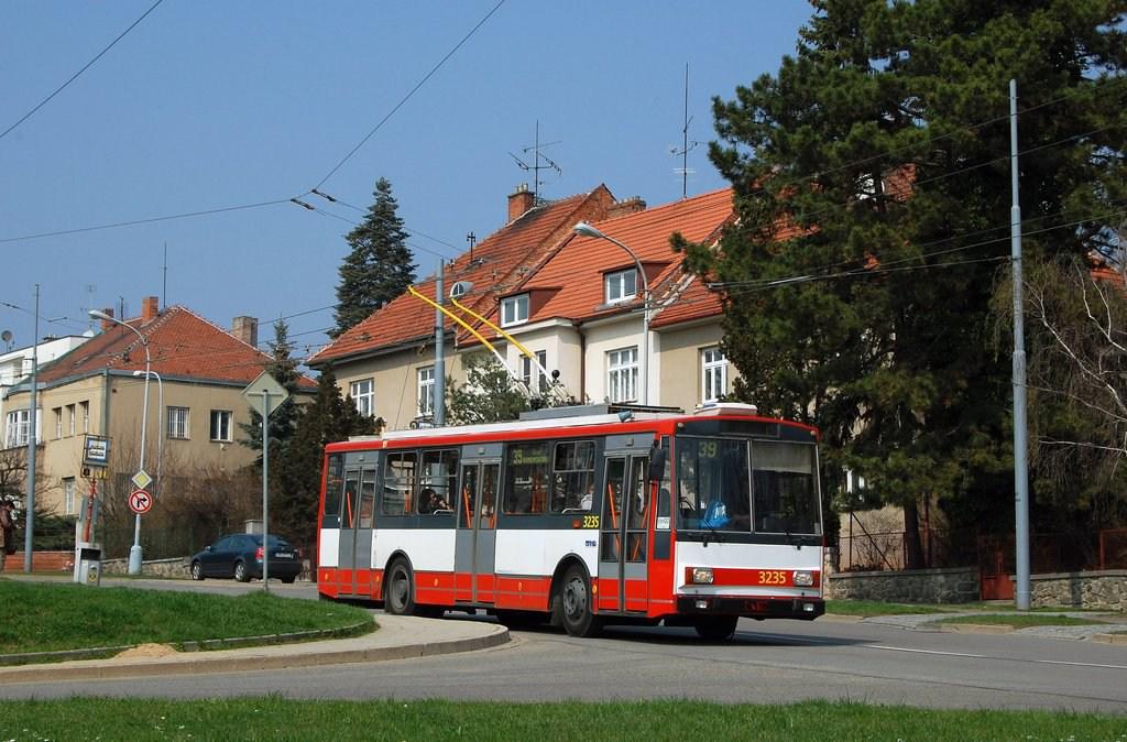 Fotogalerie » Škoda 14Tr10/6 3235 | Brno | Masarykova čtvrť | Barvičova