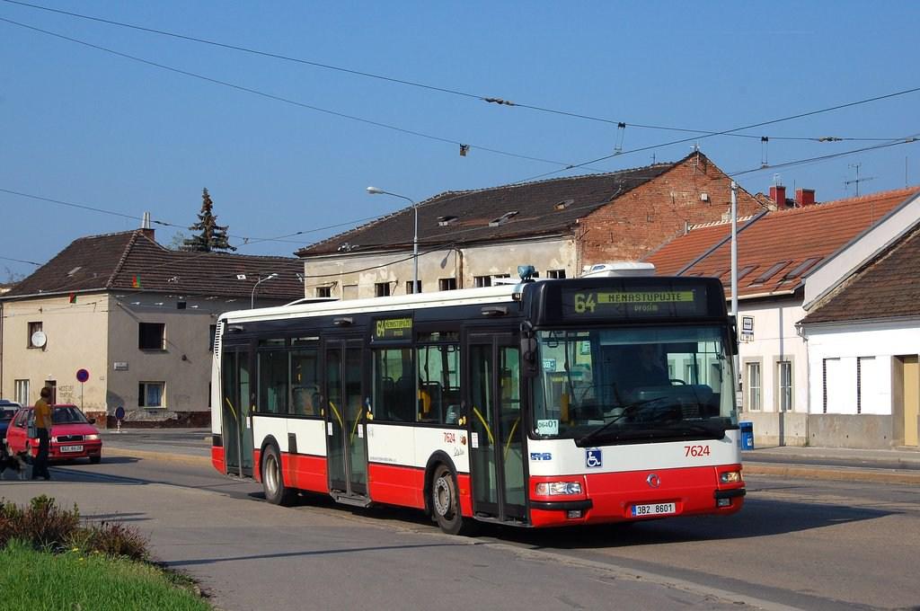 Fotogalerie » Irisbus Citybus 12M 2071.40 7624 | Brno | Židenice | Životského | Životského