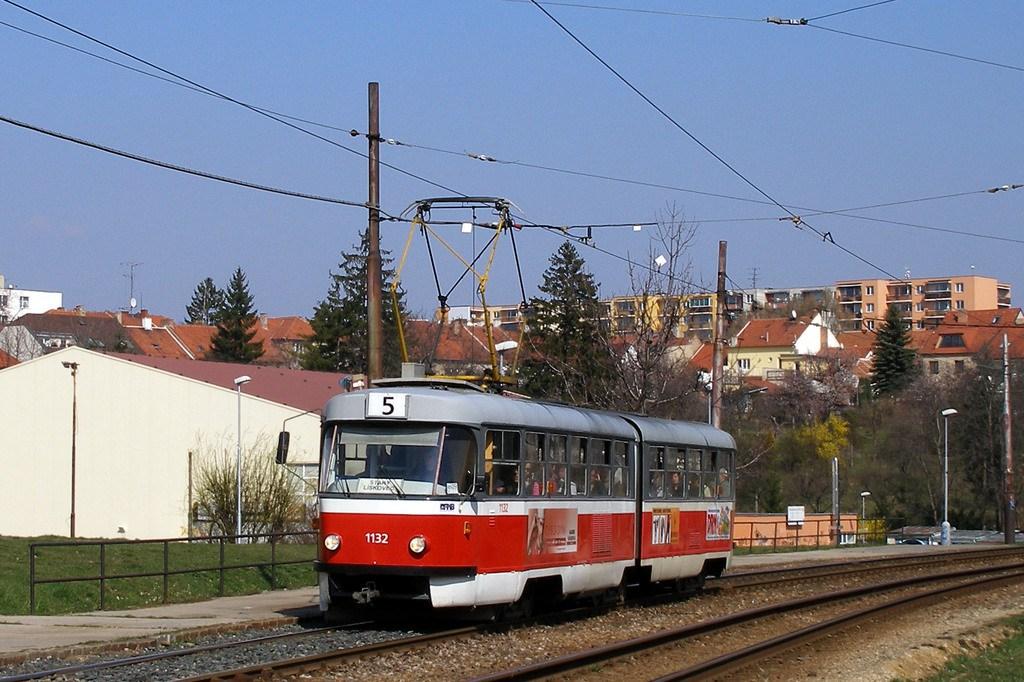 Fotogalerie » ČKD Tatra K2 1132 | Brno | Bohunice