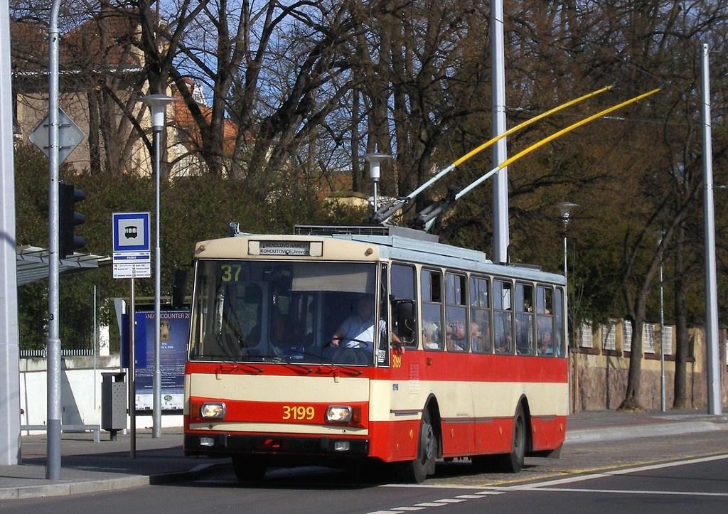 Fotogalerie » Škoda 14Tr07 3199 | Brno | Pisárky | Pisárky