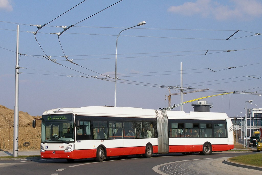 Fotogalerie » Škoda 25Tr Citelis 1B 3611   Brno   Bohunice   Netroufalky