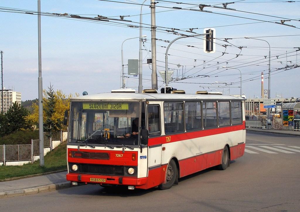 Fotogalerie » Karosa B732.20 7267   Brno   Nový Lískovec   Rybnická