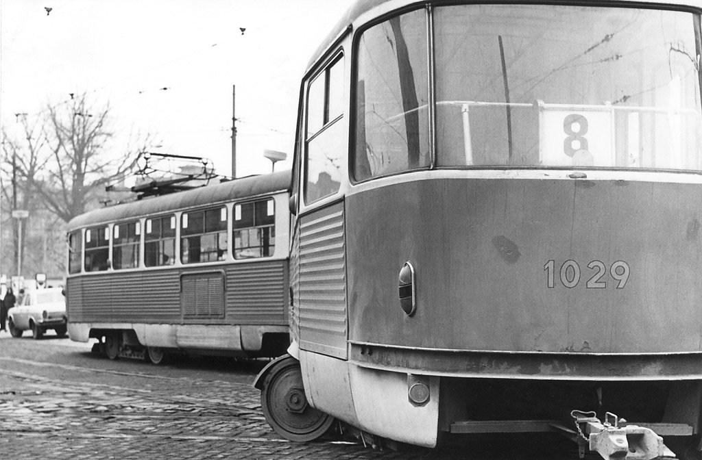 Fotogalerie » ČKD Tatra K2 1029 | Brno | Staré Brno | Mendlovo náměstí | Mendlovo náměstí