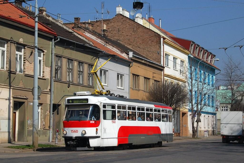 Fotogalerie » Pragoimex T3R.EV 1560 | Brno | Husovice | Nováčkova