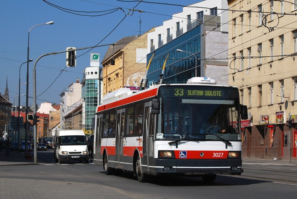 Fotogalerie » Škoda 21Tr 3027 | Brno | Trnitá | Křenová