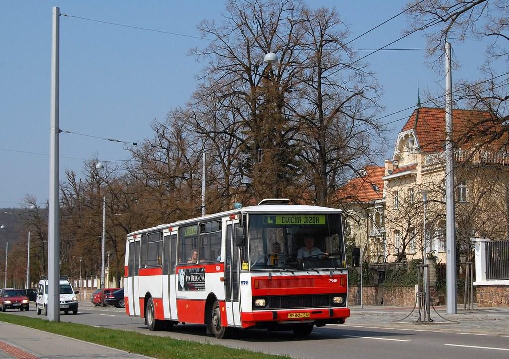Fotogalerie » Karosa B732.1654 7346 | Brno | Pisárky | Hlinky