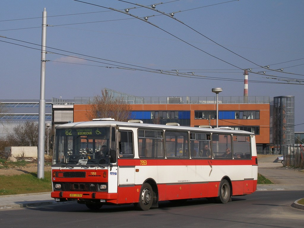 Fotogalerie » Karosa B732 pro invalidy 7353 | Brno | Bohunice | Netroufalky
