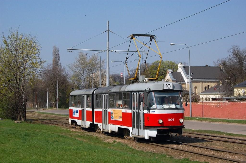 Fotogalerie » ČKD Tatra K2 1094 | Brno | Židenice | Nezamyslova