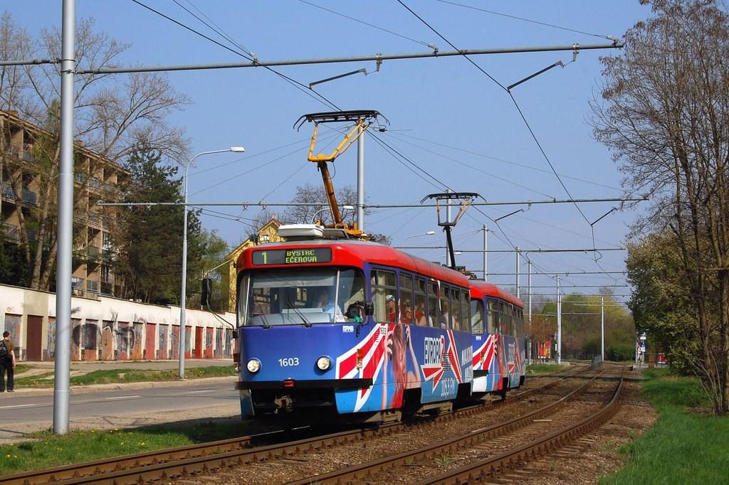 Fotogalerie » Pragoimex T3R.PV 1603 | Pragoimex T3R.PV 1561 | Brno | Komín | Bystrcká