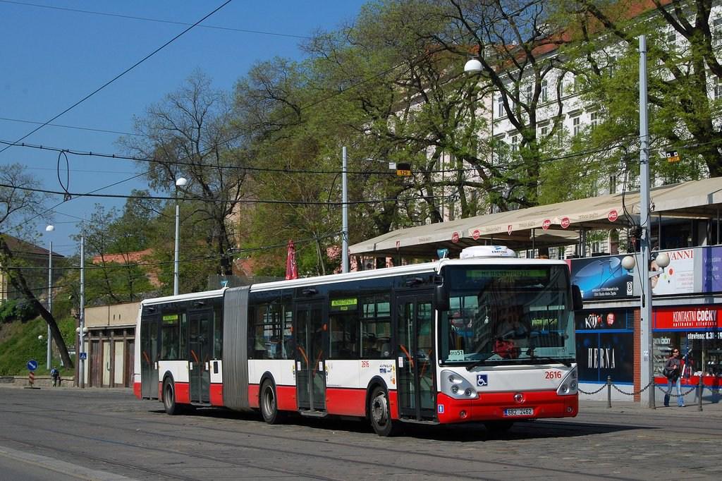 Fotogalerie » Irisbus Citelis 18M 2616 | Brno | střed | Nádražní