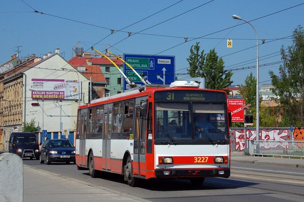 Fotogalerie » Škoda 14TrR 3227 | Brno | Černovice | Olomoucká