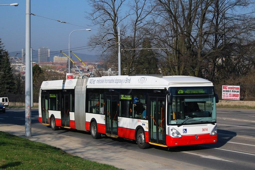 Fotogalerie » Škoda 25Tr Citelis 1B 3614 | Brno | Černá Pole | Drobného