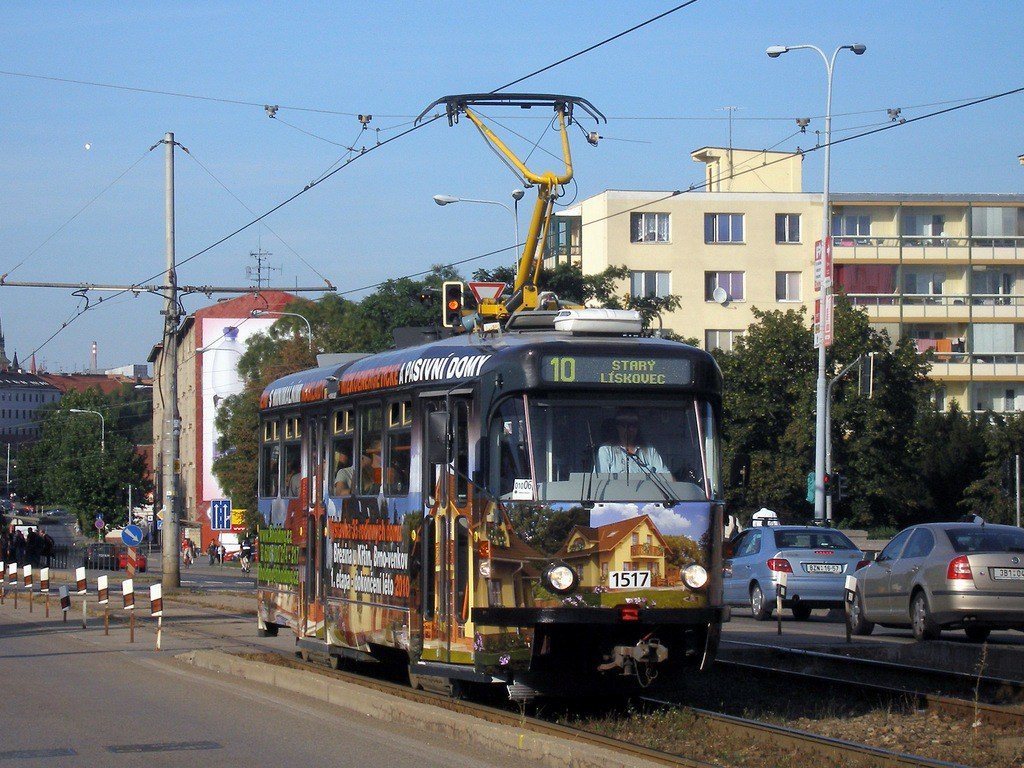 Fotogalerie » Pragoimex T3R.PV 1517   Brno   Štýřice   Renneská