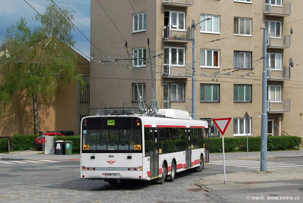 Fotogalerie » Škoda 28Tr 2712 | Brno | Královo Pole | Srbská | Srbská, smyčka