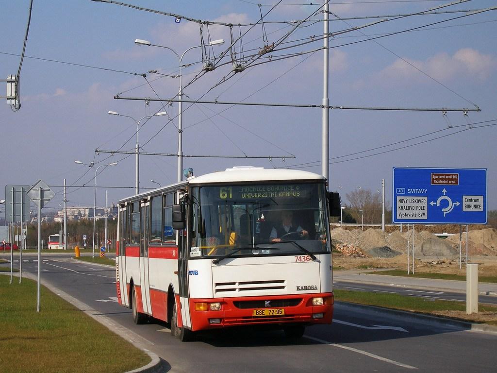 Fotogalerie » Karosa B931.1675 7436 | Brno | Bohunice | Netroufalky