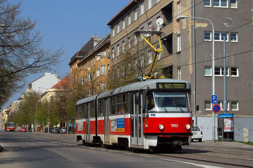 Fotogalerie » ČKD Tatra K2P 1062 | Brno | Ponava | Štefánikova