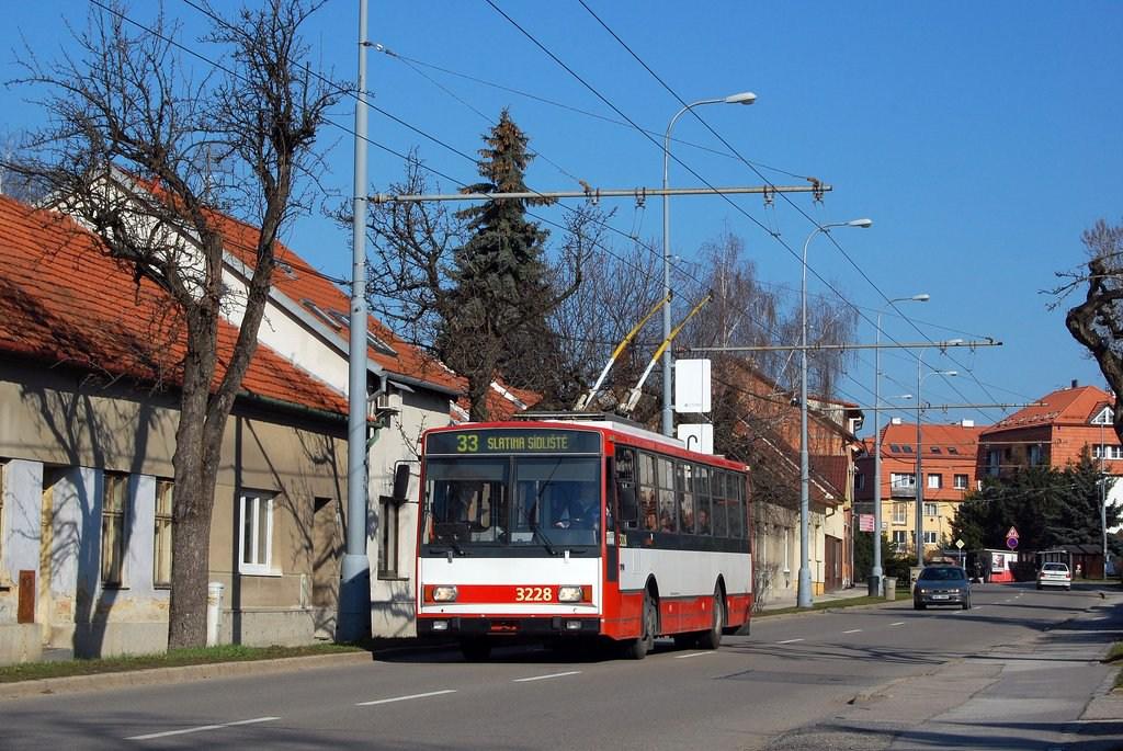 Fotogalerie » Škoda 14TrR 3228 | Brno | Slatina | Tilhonova